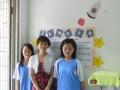導師導學生製作教室佈置